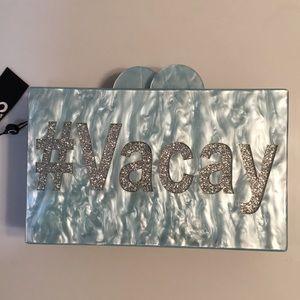 Sam Edelman Evening Hard Case Marble Clutch #VACAY